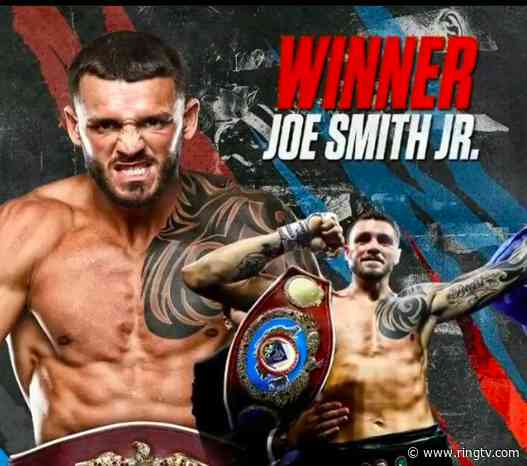 Joe Smith likes his chances to down Beterbiev if and when that fight's made