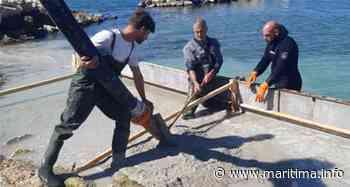 La base nautique de Port-de-Bouc fait peau neuve avant l'été - Port de Bouc - Vie des communes - Maritima.info