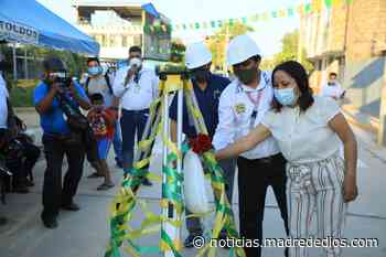 Municipalidad Provincial de Tambopata inaugura calle Mercurio - Radio Madre de Dios