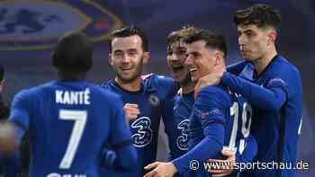 Fußball, Champions League, Halbfinalrückspiel: FC Chelsea gegen Real Madrid 2:0