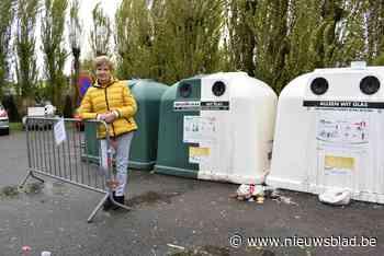 Glasbollen komen ondergronds om sluikstorten tegen te gaan op pleintje Monseigneur Van Hovestraat - Het Nieuwsblad