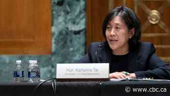 U.S. supports waiving intellectual property rules for COVID-19 vaccines