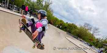 Ihr Weg führt steil nach oben : Finale der Deutschen Skateboard-Meisterschaft Köln - Kölnische Rundschau