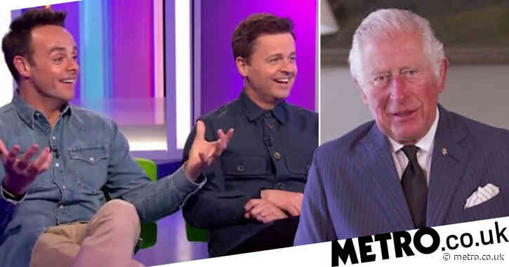 Prince Charles throws support behind Ant and Dec's new initiative: 'I could think of no better duo'