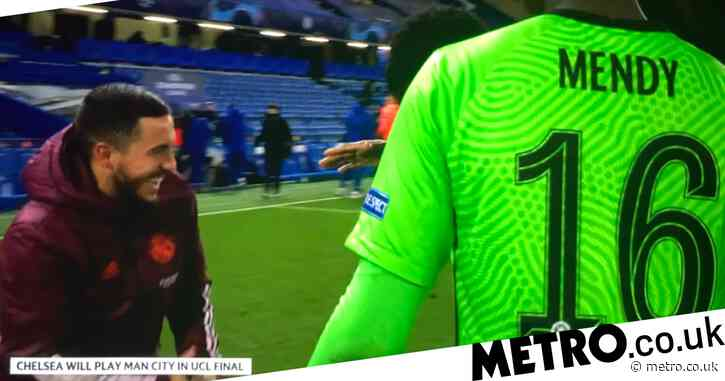 Real Madrid fans slam Eden Hazard for laughing with Chelsea stars after Champions League semi-final defeat
