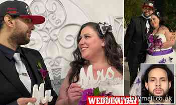 Groom accused of raping woman in a Las Vegas hotel room on his wedding day but his wife marries him