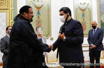 Nicolás Maduro recibe al famoso actor norteamericano Steven Seagal - Noticias Barquisimeto