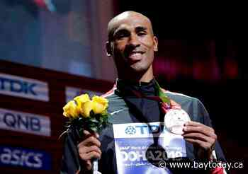 Decathlete Damian Warner says being a dad has brought balance and new perspective