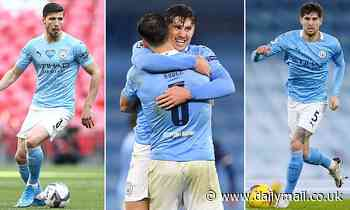John Stones and Ruben Dias are Manchester City's wonder wall... The centre-backs have been pivotal