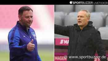 Nachholspiel im Liveticker: Hertha BSC erwartet den SC Freiburg - Sportbuzzer