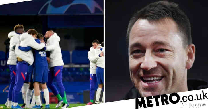 John Terry reacts as Chelsea reach two Champions League finals and pays tribute to Mason Mount after Real Madrid semi-final win