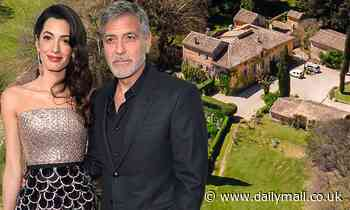 George Clooney and Amal 'set to buy estate in the South of France with own vineyard'