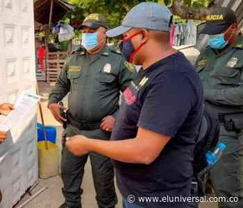 En Clemencia luchan contra el contagio del COVID-19 - El Universal - Colombia