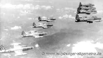 Das Wunder von Bobingen: Als vor 70 Jahren ein Kampfflugzeug abstürzte - Augsburger Allgemeine