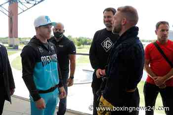 Canelo agrees to fight Saunders in 22-ft ring