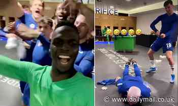 Inside Chelsea's dressing room as the Blues gear up for Champions League final