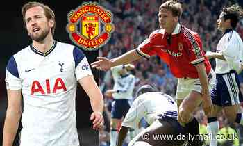 Teddy Sheringham urges Manchester United to sign 'big-money' Tottenham striker Harry Kane this year