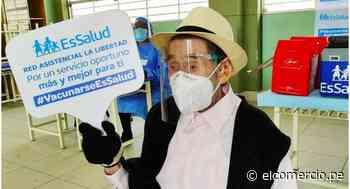 Trujillo: adulto mayor de 103 años de edad fue vacunado contra el coronavirus - El Comercio Perú