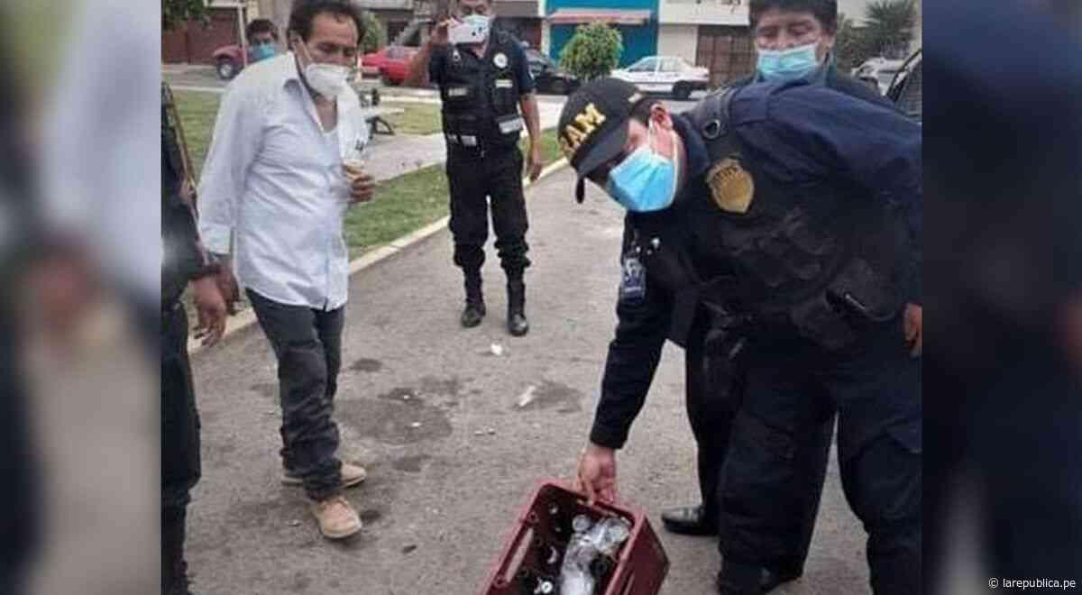 Serenos intervienen a más de 30 personas libando licor en Trujillo - LaRepública.pe
