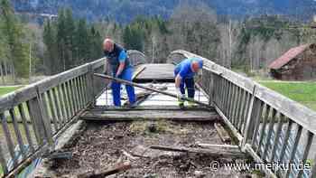 Oberammergau: Abriss der Rialtobrücke läuft – Nur der Bagger erscheint nicht pünktlich - Merkur Online