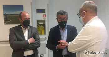 Brunetto e Garibaldi in visita agli ospedali di Rapallo, Sestri Levante e Lavagna - Telenord
