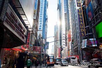 Broadway can reopen in September, Governor Cuomo says
