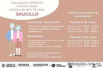Confirmado: inicia el 06 de mayo la vacunación anticovid en saucillo - La Opcion