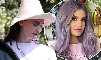 Aimee Osbourne is seen for the first time since her younger sister Kelly revealed they 'don't talk'