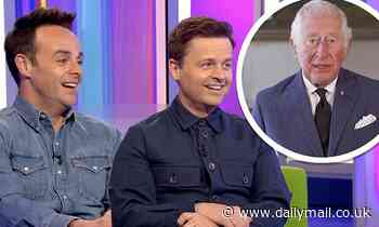 Prince Charles makes a cheeky jibe at Ant and Dec as he jokes the duo have 'followed him around'