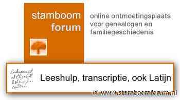 Wie kan helpen bij het vertalen van deze tekst Jan de Bock ? [opgelost] [Leeshulp, transcriptie, vertaling]