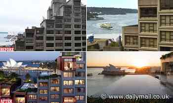 Plans revealed for luxury apartments of Sirius building overlooking Sydney Opera House
