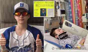 Michigan student, 16, dies suddenly at home just weeks after being knocked out during baseball game
