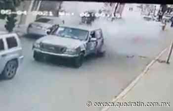 Sin daños mayores, explosión de pirotecnia en Santa Cruz Amilpas - Quadratín Oaxaca