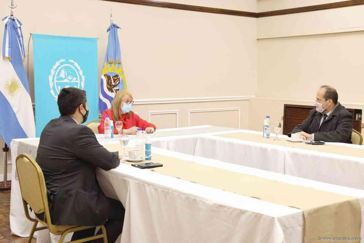 Eduardo Villalba se reunió con Alicia Kirchner en Santa Cruz - Argentina.gob.ar Presidencia de la Nación