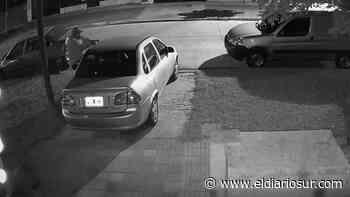VIDEO | Así roban un auto en Llavallol en 15 segundos - El Diario Sur