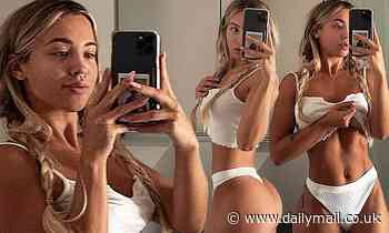 Fans label Tammy Hembrow 'unreal' as she shows off her famous figure