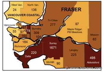 COVID cases drop significantly in North Van, West Van - North Shore News