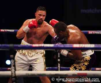 Tony Bellew says Joseph Parker is washed up as a heavyweight