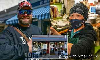 QAnon promoter 'stiffed DC diner owner with $10k bill' after offering to pay for soldiers' meals