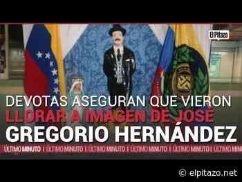 Charallave l Devotas aseguran que vieron llorar imagen de José Gregorio Hernández este #3may - El Pitazo