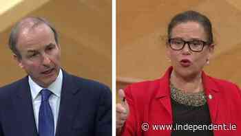 Mary Lou McDonald and Micheál Martin clash over wholesale purchase of Maynooth housing estate - Independent.ie