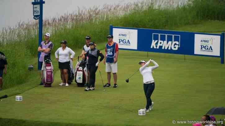 KPMG Women's PGA with 8,000 spectators