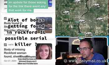 TikTokers claims there's a serial killer in an Illinois town after eight bodies found in eight weeks