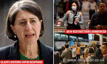 Gladys Berejiklian forced to defend bringing in new restrictions over two Covid cases in NSW