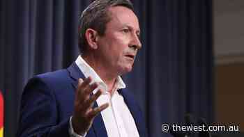 Mark McGowan press conference at 12.45pm to reveal WA coronavirus restrictions - The West Australian