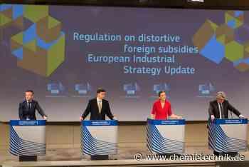 Europäische Chemie begrüßt neue EU-Industriestrategie - Chemie Technik
