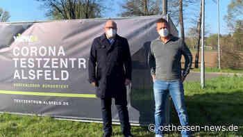 Neues Testcenter in Alsfeld eröffnet: Drive-In an sieben Tagen in der Woche - Osthessen News