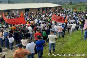 Campesinos de Anorí (Antioquia) levantan paro tras llegar a acuerdos con autoridades - El Espectador