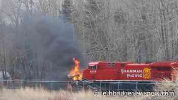 No injuries in Sparwood train collision - Lethbridge News Now