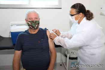 Araquari abre agendamento de vacinação para pessoas com comorbidades e deficiências - ND Mais